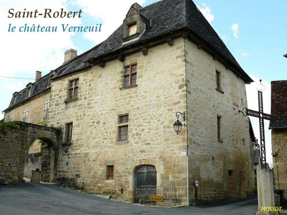 Saint-Robert église Saint-Robert du XIIe siècle