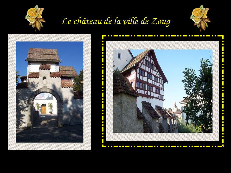 Le château de la ville de Zoug