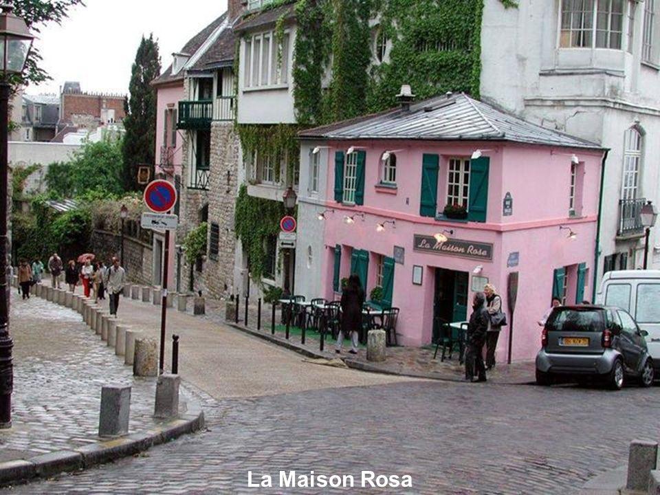 Autres escaliers de Montmartre.