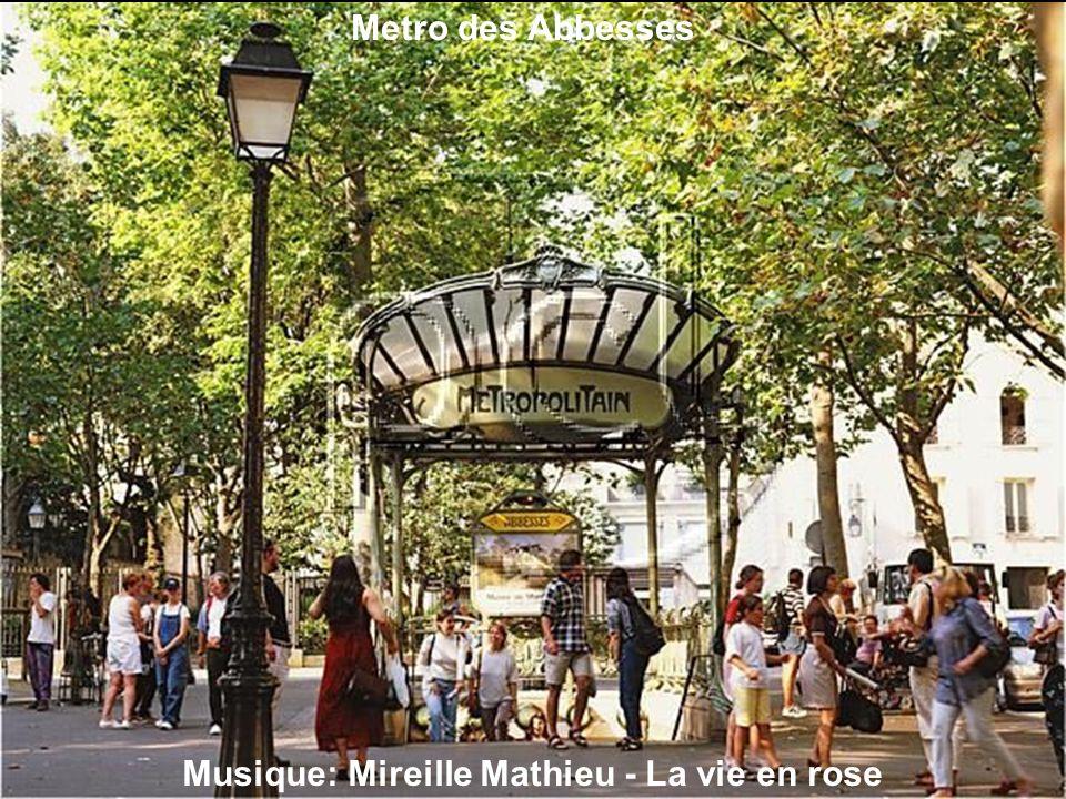 Musique: Mireille Mathieu - La vie en rose (Fragmento)