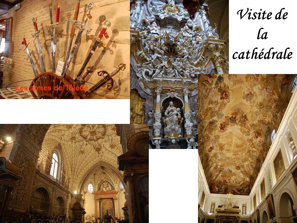Cathèdrale Sainte Marie de Tolède Tympan de la Cathédrale