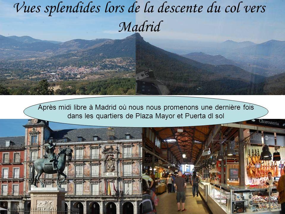 Col de Navacerrada : Il sagit de la station de ski la plus proche de Madrid (60 km) et de Ségovie (72 km).