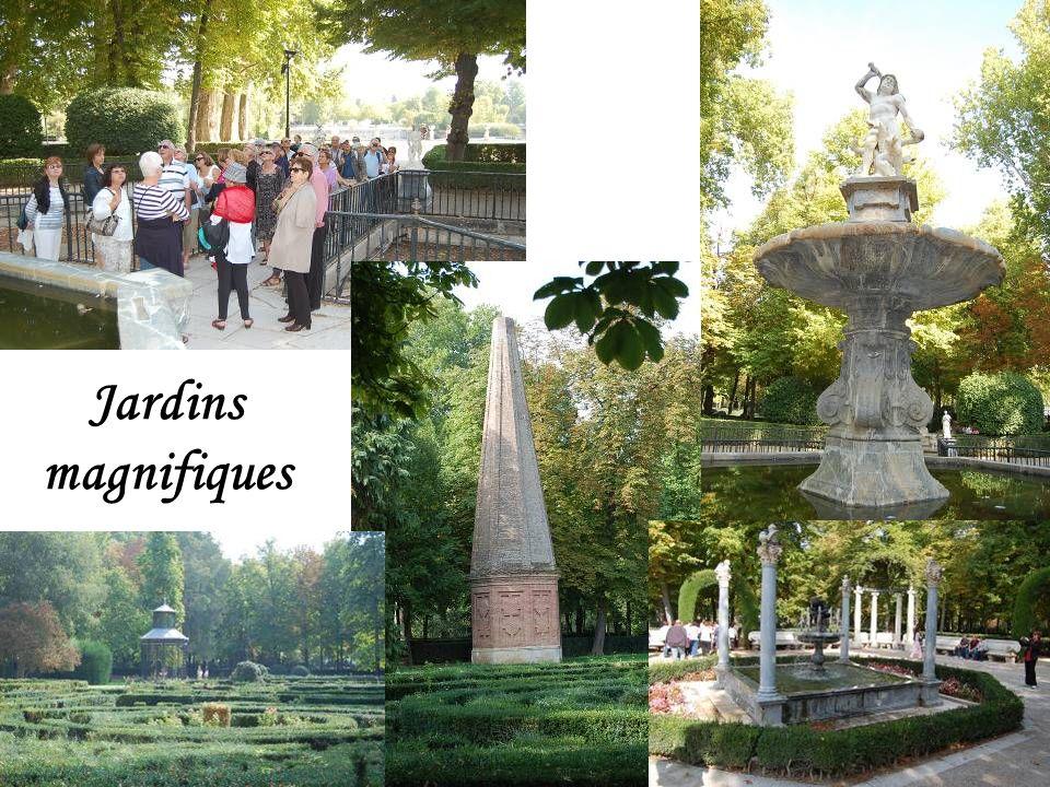 Jardins (Pas de photos de lintérieur)