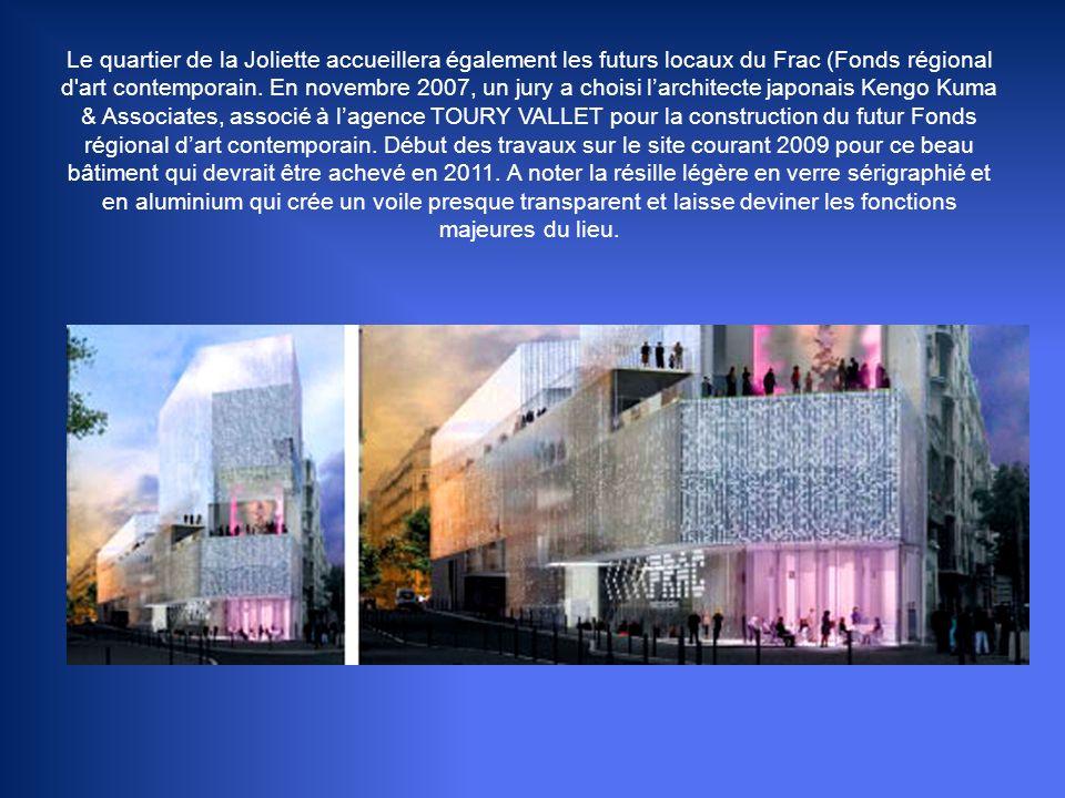 LES TERRASSES DU PORT A proximité de place de la Joliette, ce centre commercial aura une superficie de 45 000 m² avec des terrasses de 10 000 m² et de