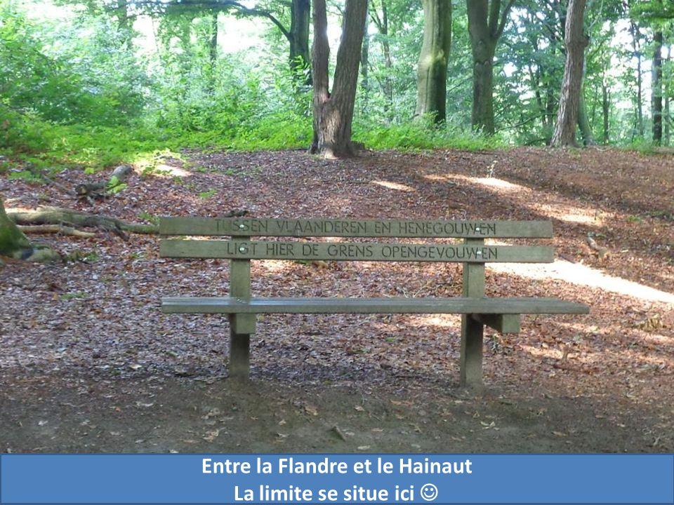 Entre la Flandre et le Hainaut La limite se situe ici