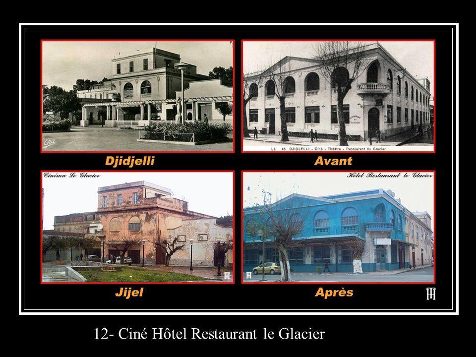 12- Ciné Hôtel Restaurant le Glacier