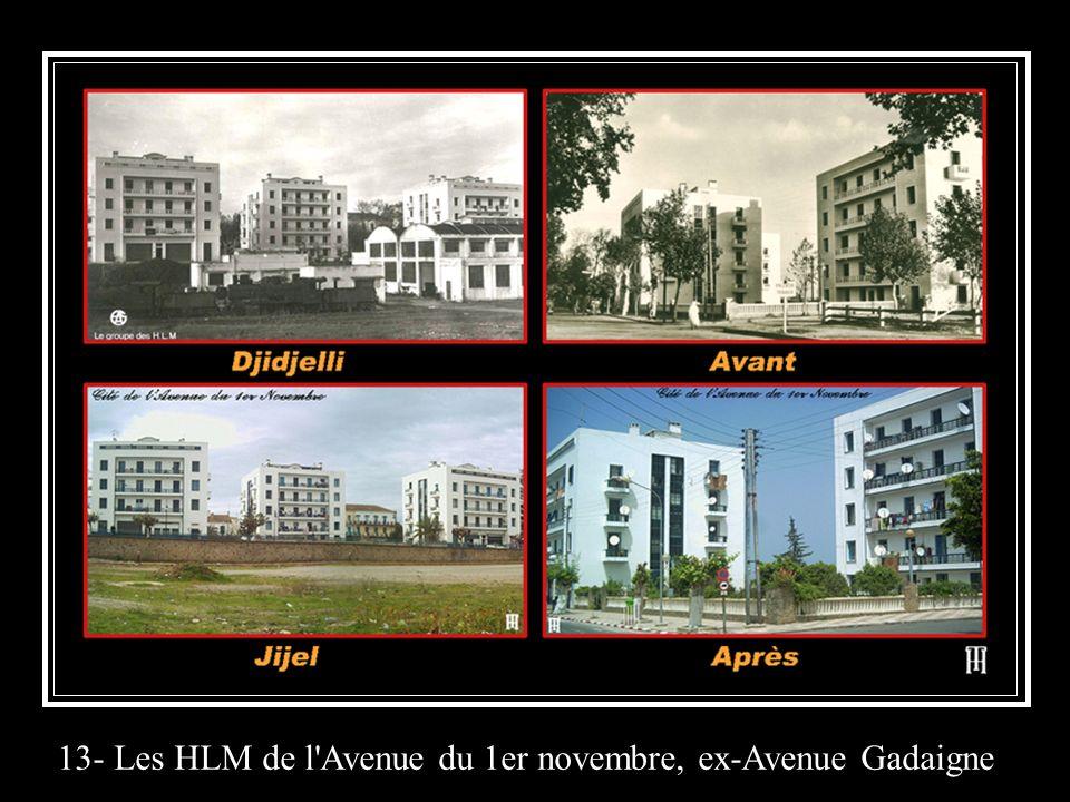 13- Les HLM de l'Avenue du 1er novembre, ex-Avenue Gadaigne