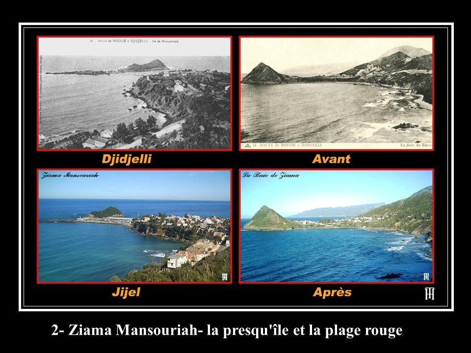 2- Ziama Mansouriah- la presqu'île et la plage rouge