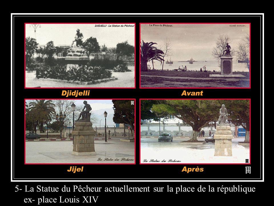 5- La Statue du Pêcheur actuellement sur la place de la république ex- place Louis XIV