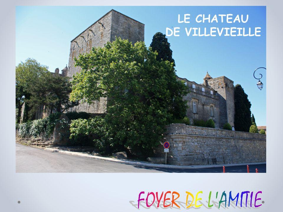 LE CHATEAU DE VILLEVIEILLE