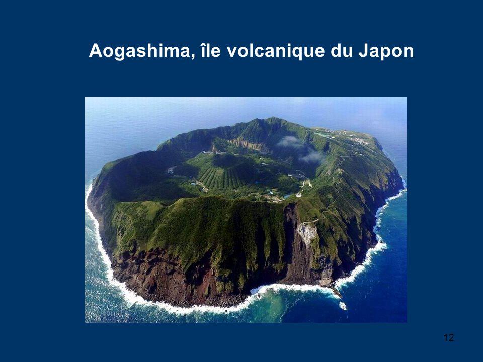 12 Aogashima, île volcanique du Japon
