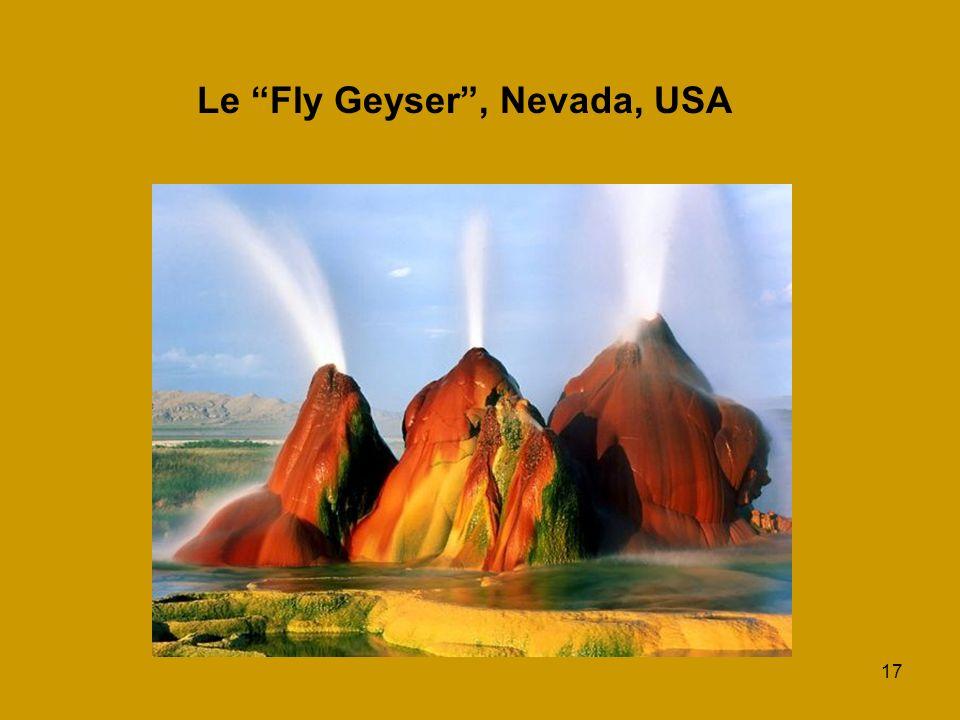 17 Le Fly Geyser, Nevada, USA