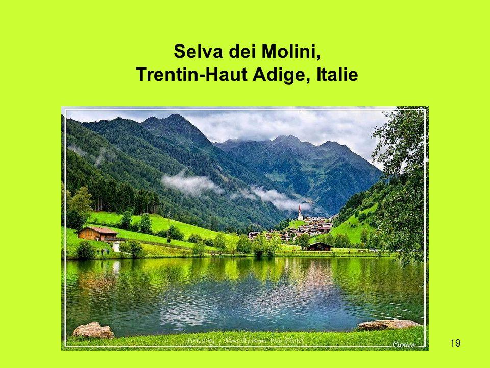 19 Selva dei Molini, Trentin-Haut Adige, Italie