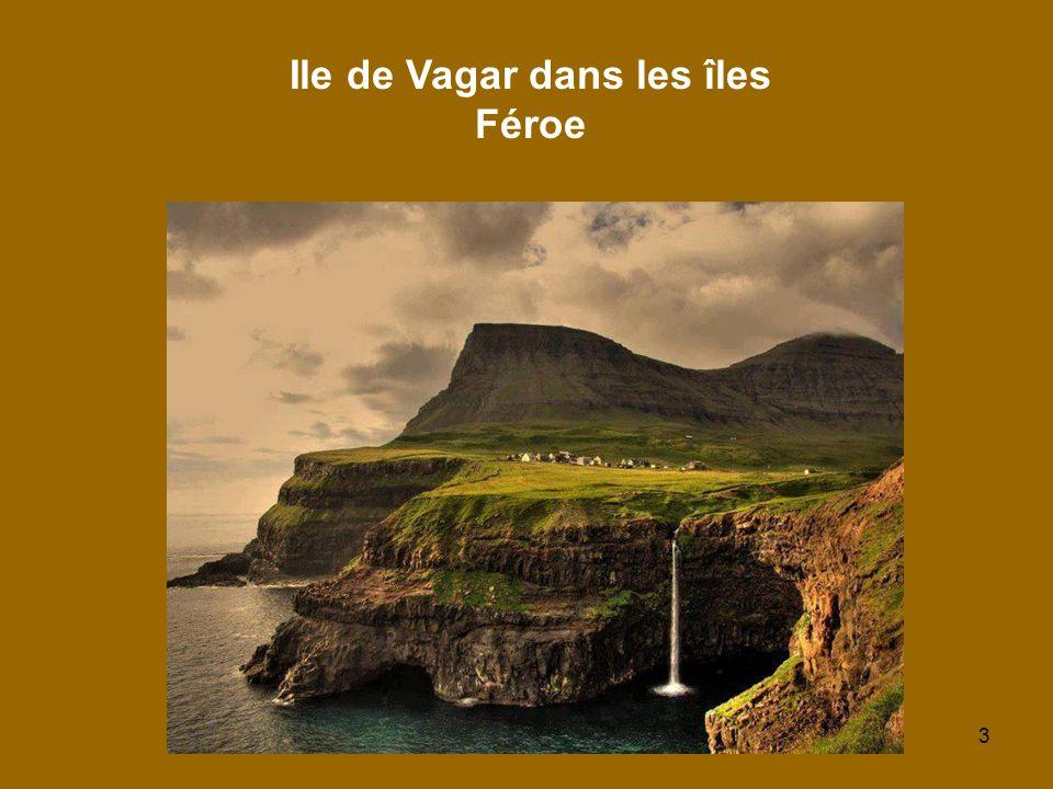 3 Ile de Vagar dans les îles Féroe