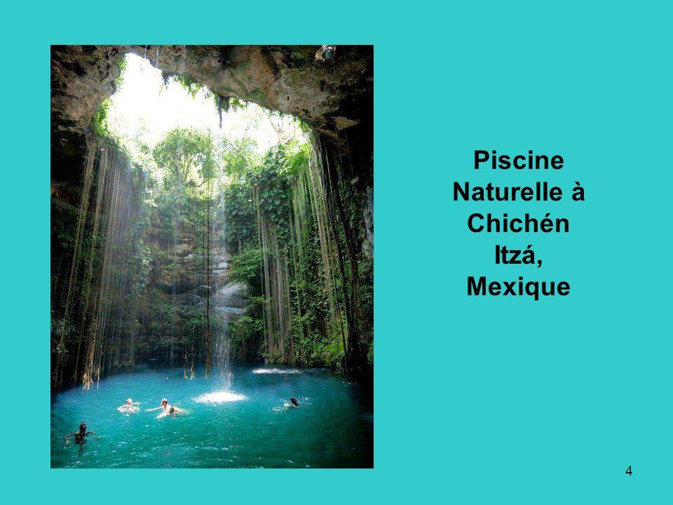 4 Piscine Naturelle à Chichén Itzá, Mexique
