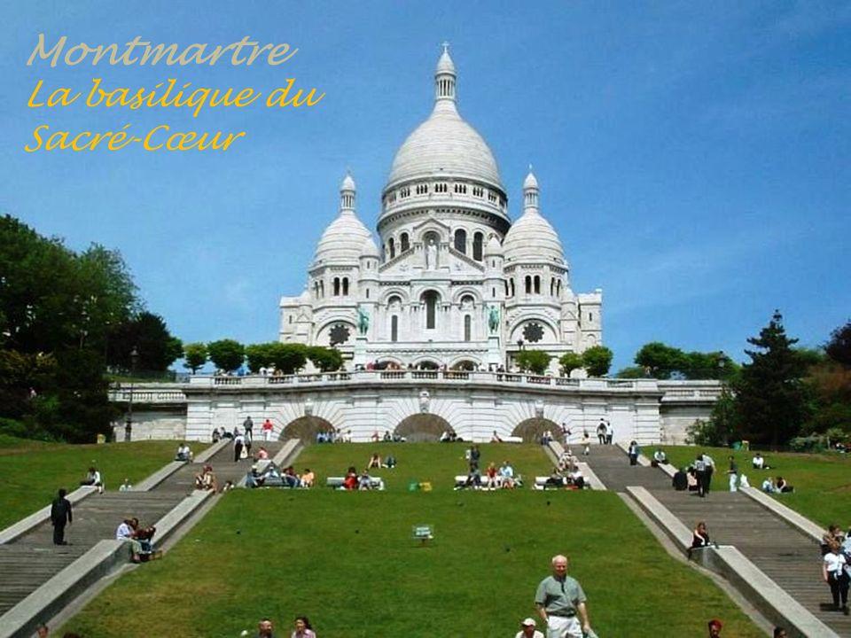 Montmartre Encore !....... Des escaliers Fontaines sous le Sacré-Cœur