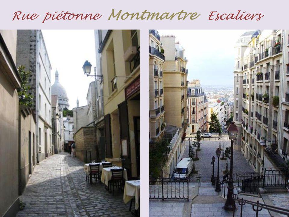 Montmartre panorama de Paris.. vers Montmartre