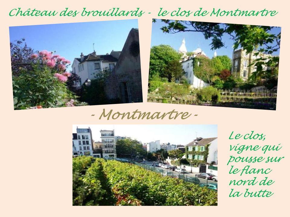 Église St-Pierre Montmartre Le portail