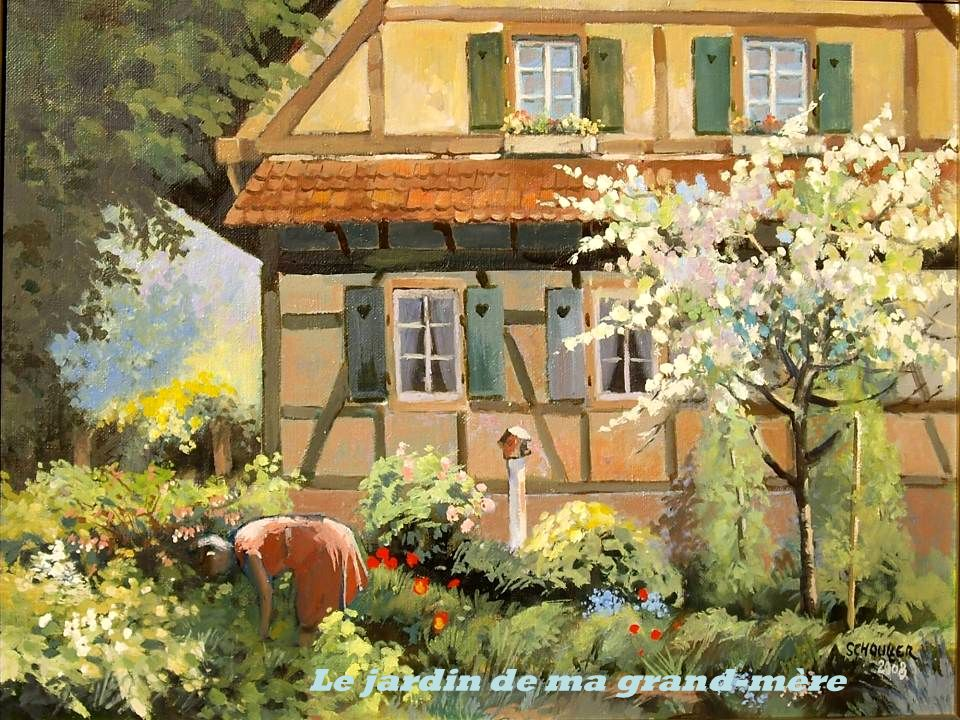 Le jardin de ma grand-mère