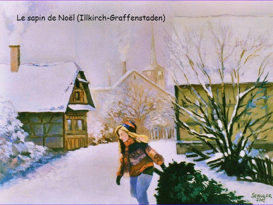 Le sapin de Noël (Illkirch-Graffenstaden)