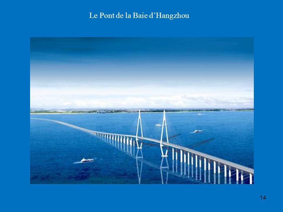 14 Le Pont de la Baie dHangzhou
