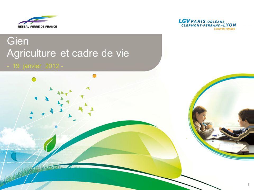 Gien Agriculture et cadre de vie - 19 janvier 2012 - 1