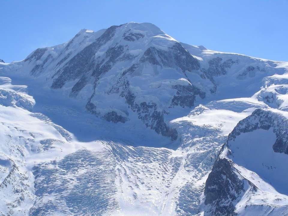 Le Castor 4223m. Le Pollux 4092 m.