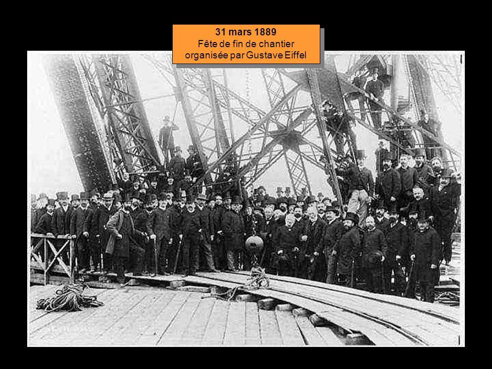 23 mars 1889 La Tour est achevée ! 23 mars 1889 La Tour est achevée !