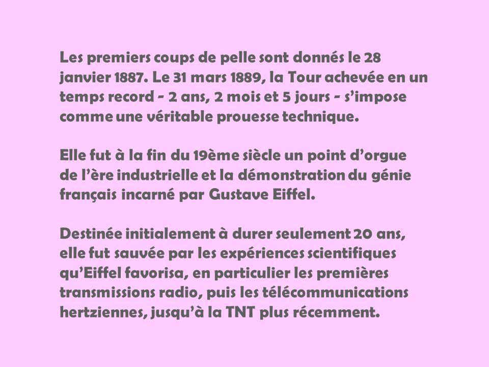 Cest à loccasion de lExposition Universelle de 1889, date qui marquait le centenaire de la Révolution française quun grand concours est lancé dans le