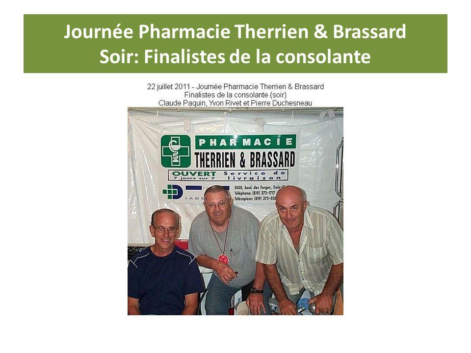 Journée Pharmacie Therrien & Brassard Soir: Finalistes de la consolante