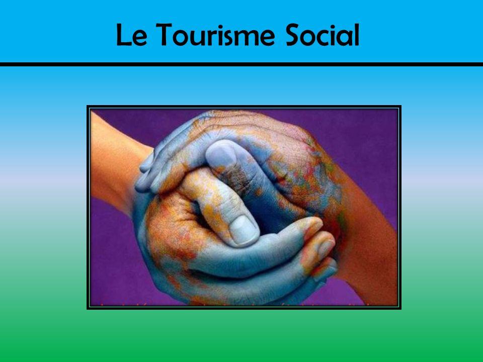 Définition Réseau de veille en Tourisme: - Ce secteur préconise le droit aux vacances et laccessibilité au tourisme à tous les groupes de la population.