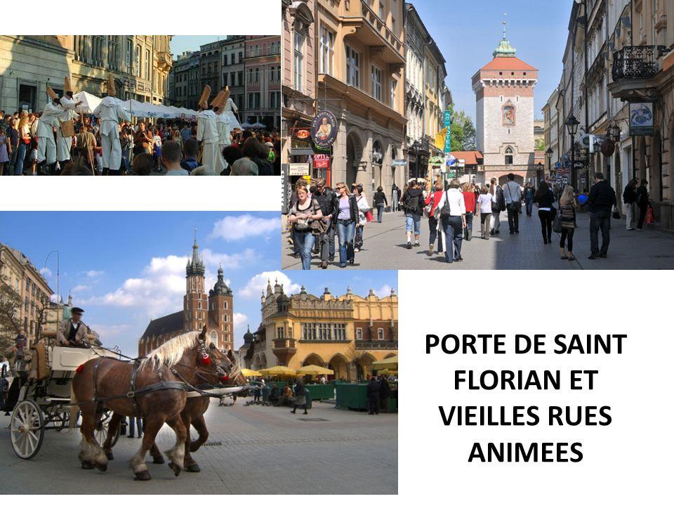 PORTE DE SAINT FLORIAN ET VIEILLES RUES ANIMEES