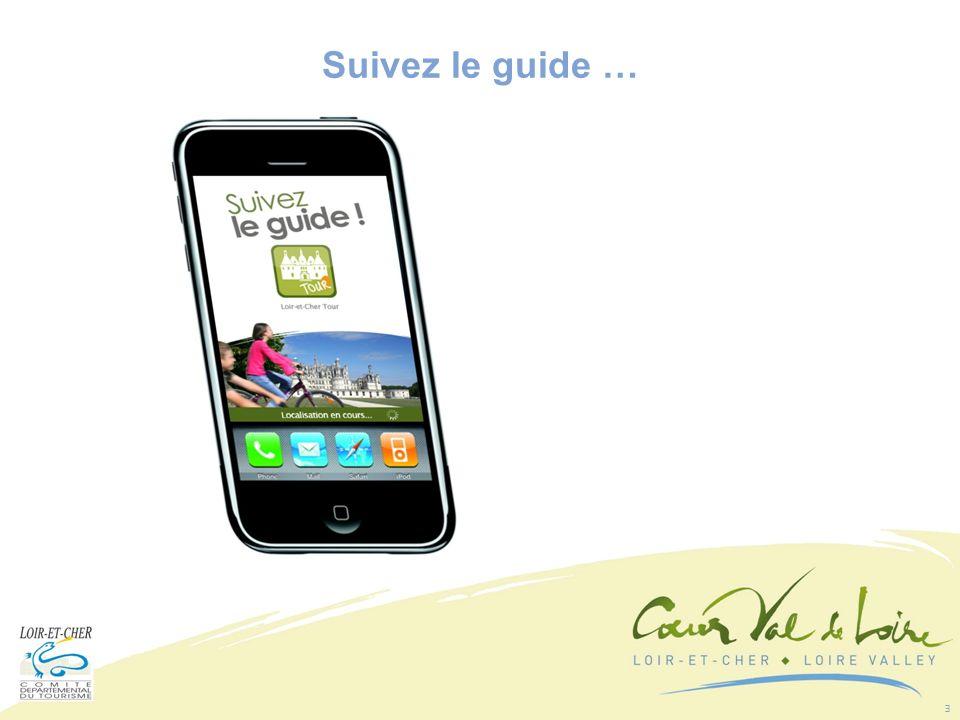 4 Géo localisation pour les smartphones équipés de GPS Suivez le guide …