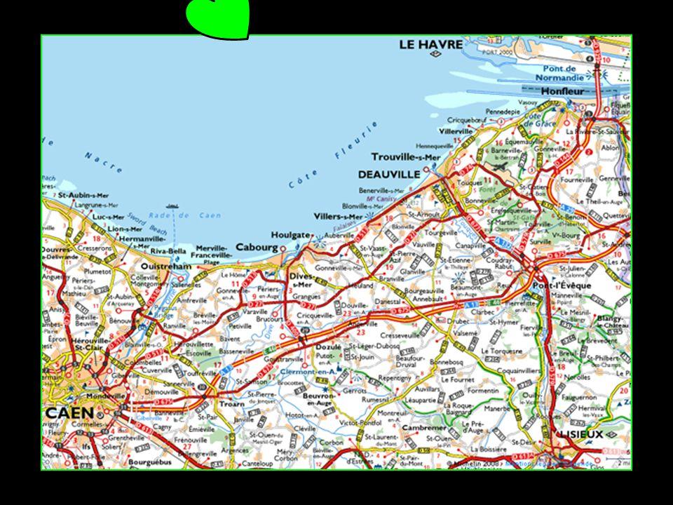 Deauville Région : Basse-Normandie Département : Calvados 3866 habitants appartient à la Côte Fleurie