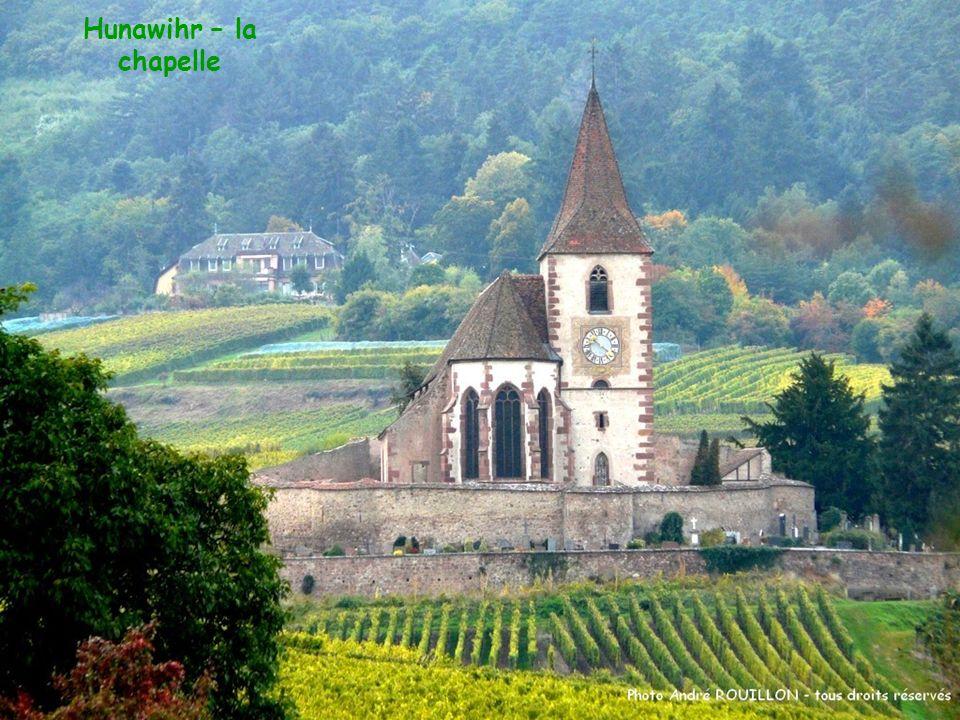 Hunawihr – la chapelle