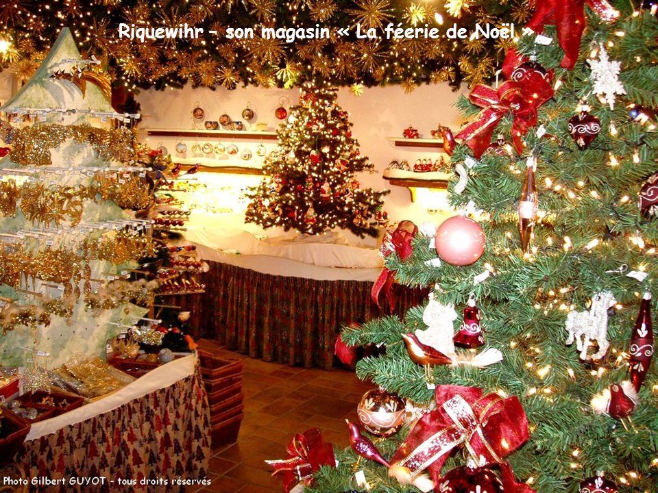 Riquewihr – son magasin « La féerie de Noël »