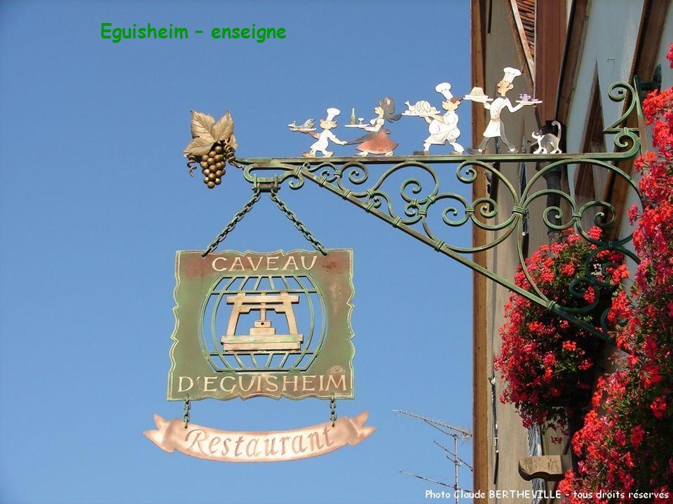 Eguisheim – enseigne