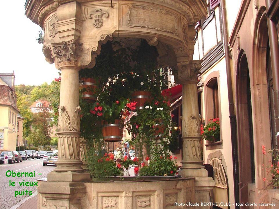 Obernai – le vieux puits