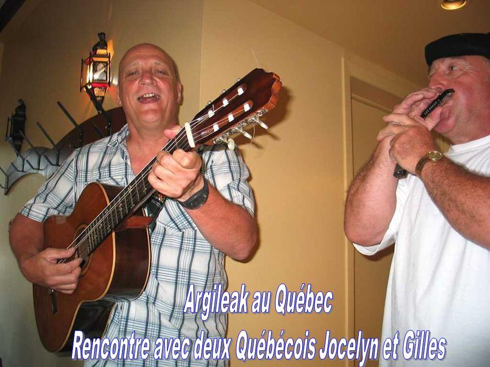 PRESENTEMENT Je me souviens Argileak remercie tous ceux qui ont participé à la concrétisation de notre voyage au Québec.