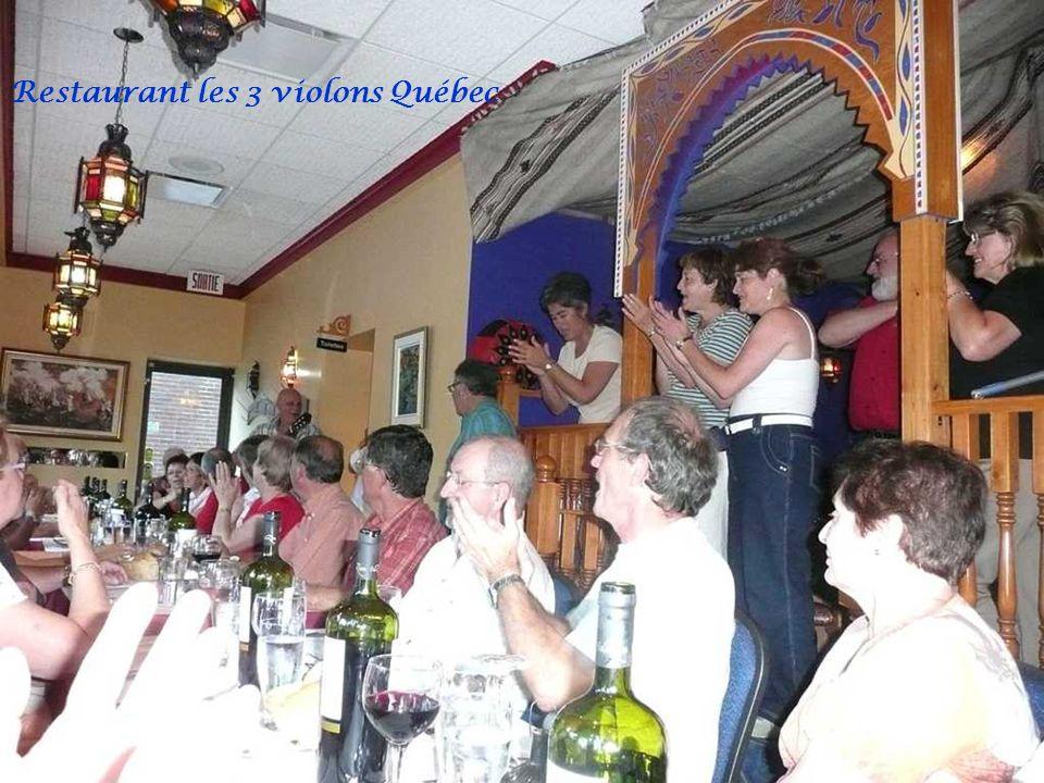 Restaurant les 3 violons Québec