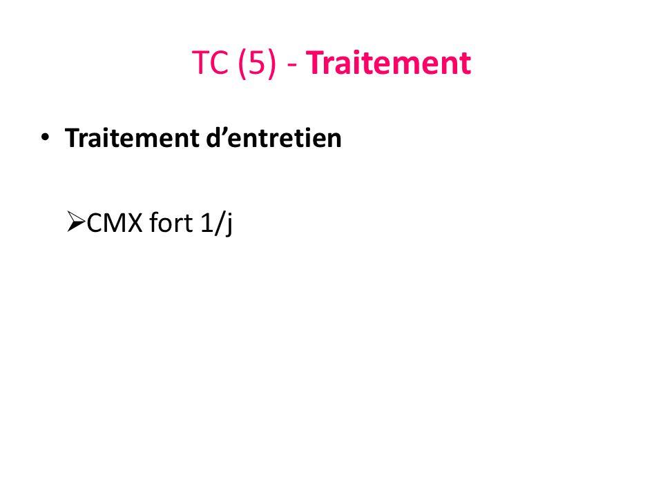 TC (5) - Traitement Traitement dentretien CMX fort 1/j
