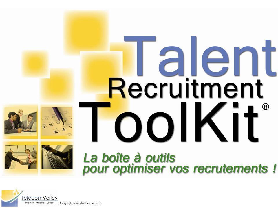 Bienvenue sur le Talent Recruitment ToolKit® .La boîte à outils pour optimiser vos recrutements .