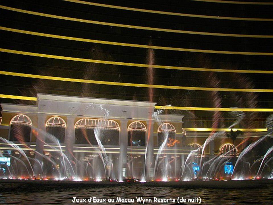Jeux dEaux au Macau Wynn Resorts (de jour)