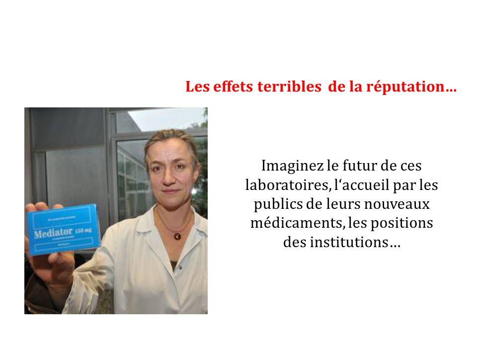 Imaginez le futur de ces laboratoires, laccueil par les publics de leurs nouveaux médicaments, les positions des institutions…