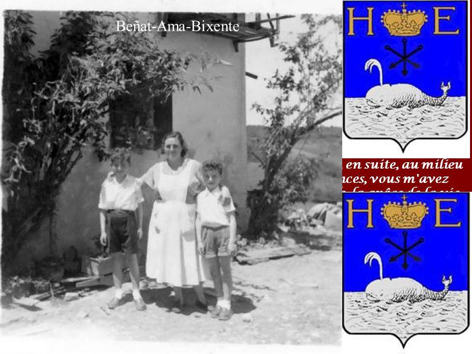 ANNIVERSAIRE LE 24 Février 2007 Restaurant Mendi-alde à Osses 1947-2007 Voici 60 ans déjà que je suis né à Hendaye (le 22/01/1947) au Bas-quartier, le