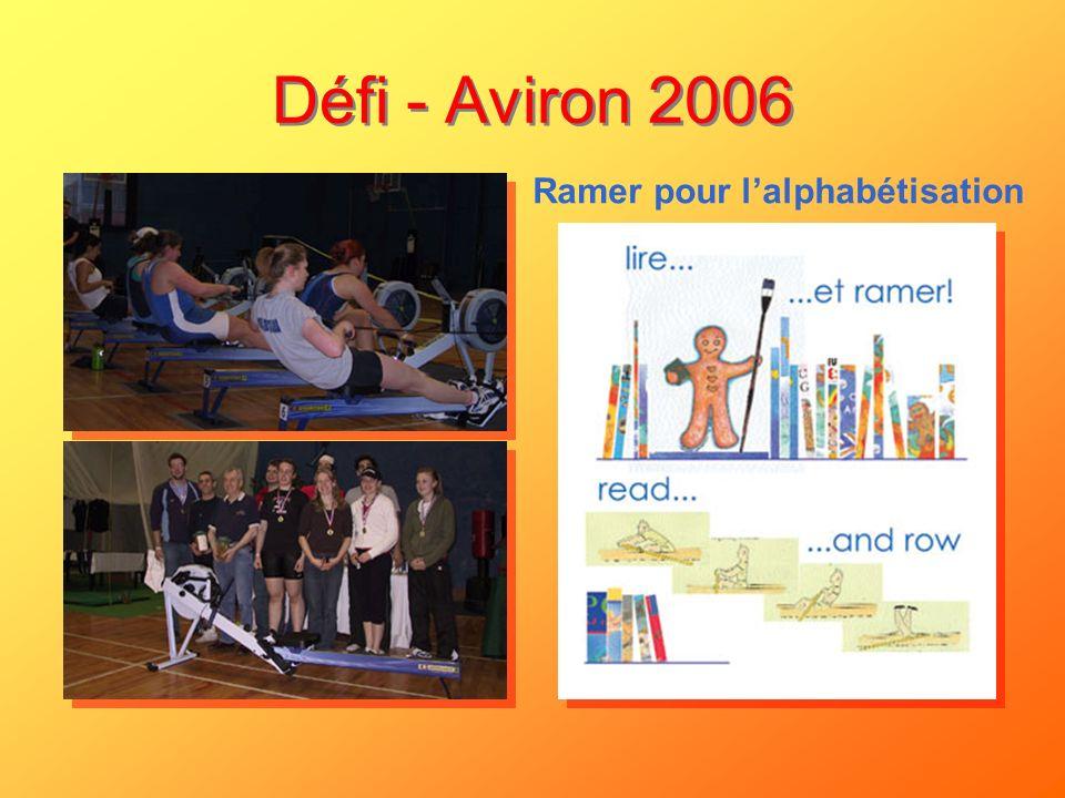 Défi - Aviron 2006 Ramer pour lalphabétisation