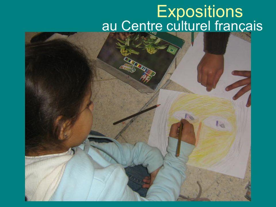Expositions au Centre culturel français