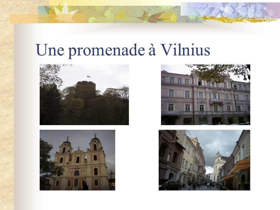 Une promenade à Vilnius