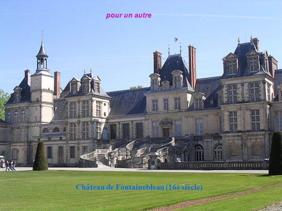 Château de Fontainebleau, résidence royale de Louis VII en 1137 à Napoléon III en 1868 Elle te quitte
