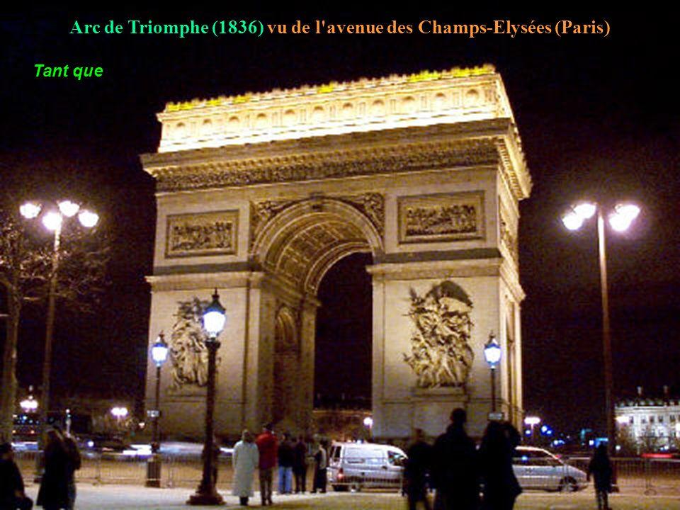 Tour Eiffel Palais de (1889) Chaillot dure toute la vie.